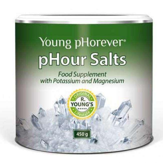 Potravinový doplněk Young pHorever - pHour Salts