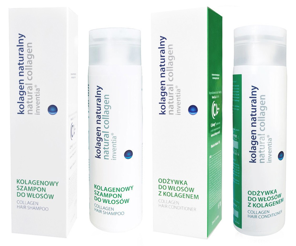 Colway - vlasový kolagenový šampon + kondicioner