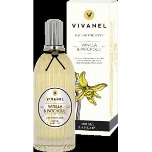 Toaletní voda VIVANEL Vanilka a Patchouli - 100 ml