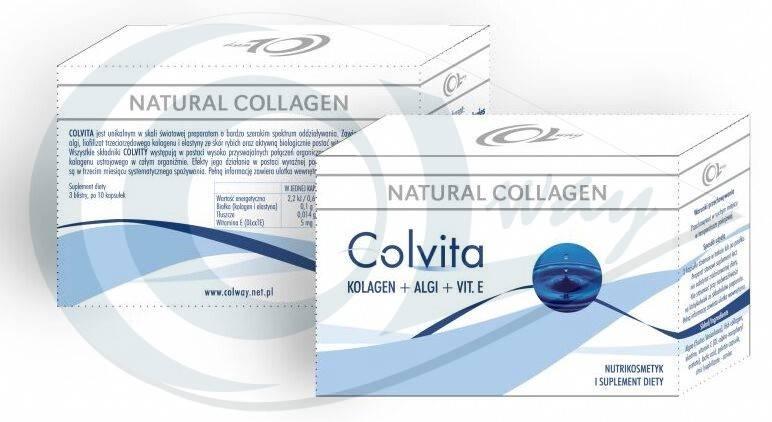 Colway Colvita - potravinový doplněk 120 kapslí