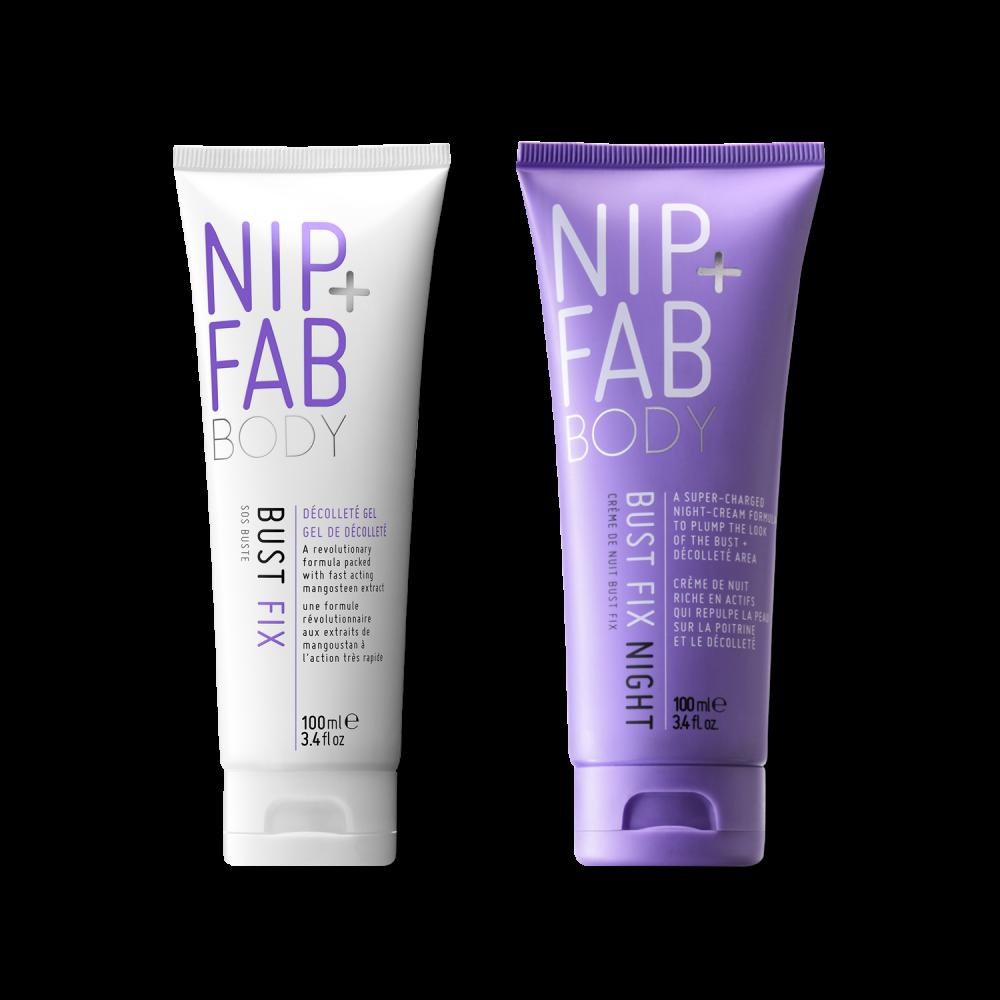 Nip and FAB Bust fix day and night duo krémy na zvětšení prsou