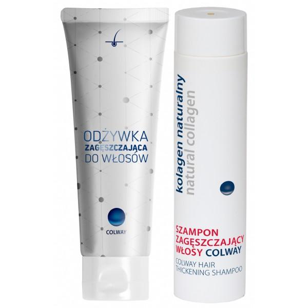Colway - vlasový šampon a kondicioner zlepšující hustotu vlasů